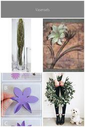 36er Set Glasvasen, Blumenvasen Solifleur H. 36cm D. 6cm rund klar Sandra Rich S…