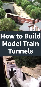 So bauen Sie Module für Ihre Modelleisenbahn – Model trains