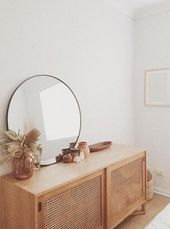 – A mid-century blend of modern, bohemian and industrial decor. Home and