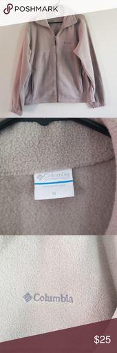 Columbia fleece jacket size medium Gray Columbia zip up fleece jacket size mediu…