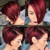 asymmetric pixie haircuts #asymmetric # …