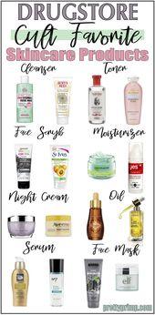 16 Holy Grail Drugstore Hautpflegeprodukte, die Si…