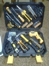 Online Shop Deko Hand Tool Set General Household Repair Hand Tool