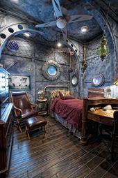 Steampunk-Raum-Ideen