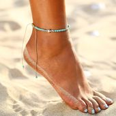 Bohemian Star Decorated Women's Anklet Muduh Urban Fashion Collection muduh.com …  – Women's Jewelry