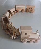 17 Ideen für Spielzeug aus Holz – mybabydoo