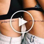 A friendship tattoo is the literal proof that true friend …