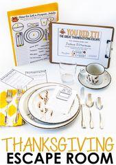 Thanksgiving-Aktivitäten – School