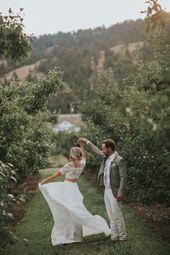 Lea-Ann Belter Echte Hochzeiten | Kelowna Hochzeit im Gatzke Obstgarten | Stacie + Mark …