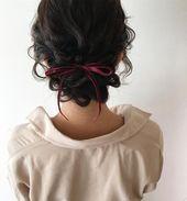 17 Die besten Hochsteckfrisuren für mittellanges Haar – #best #the # for … – #Hair #Le …   – haar