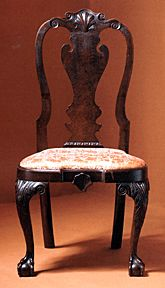 A Fine Queen Anne Chair Queen Anne Furniture Anne Furniture Plans Period Furniture