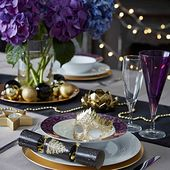 Christmas table setting design ideas | Ideal Home