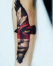Tattoos on the leg and thigh for men – determinetattoo .com – Page 47 of 50