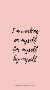 BEST MOTIVATIONAL & INSPIRATIONAL GYM / FITNESS QUOTES – I work for myself> 25+   – Glow up Journal