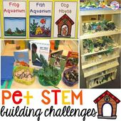 Blocks & STEM Center … Pet Homes bauen (ein FREEBIE   – Investigations