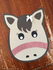 Emmas Pferdegeburtstag DIY Ideen für den Kindergeburtstag