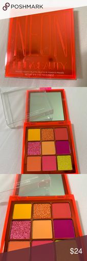 Huda Magnificence Neon Orange Obsessions No trades / Only one shade used the one in th…