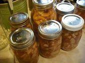 Einmachen der Apfelkuchenfüllung – Einmachen & Konservieren – # Apfelkuchenfüllung … – Torten