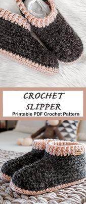 Make a Pair of Cozy Slippers – Handarbeiten