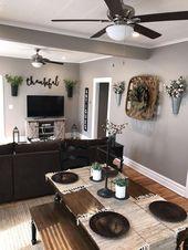 33 trick for cozy farmhouse decor living room 24