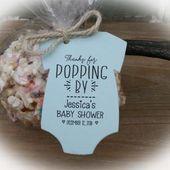 Baby Showers Twinkle Baby Shower Wine Bottle Favor TagsPumpkin Wine Favor | Etsy