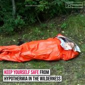 Emergency Waterproof Sleeping Bag 💤