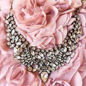 Vintage Glamour Statement Halskette # Glamour # Halskette #Statement #Vintage
