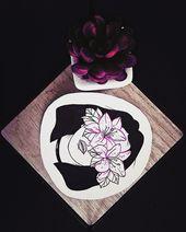 Blossom Lady #monday #mood #weird #creepy #tattooartist #tatto