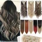 Real thick claw ponytail hairpiece clip in hair extensions as human blonde hair Ebay – #als #Clip #dicke #Ebay #echte