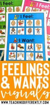 Emotions & Desires Communication Visuals