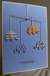 Baby Cards Elephant baby card