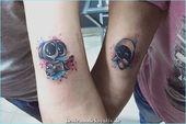 60 Paar Tattoos, um die Liebe für immer am Leben zu erhalten