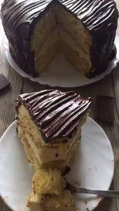 """Torte """"Tscharodeika"""" – einfaches Rezept für russischen Kuchenklassiker"""
