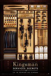 Kingsman Services Secrets Affiche Service Secret Placard Pour Hommes Maison Design