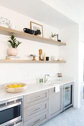 Saltbox Collective Kitchenette #sbcstgeorgeparade Keller / Hobbyraum #kitchenett …   – Interieur