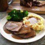 Low Sodium Roast Beef And Gravy Sodium Optional Recipe Heart Healthy Recipes Low Sodium Sodium Free Recipes Low Sodium Dinner