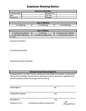 employee disciplinary form template free