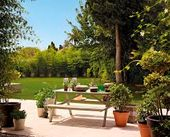 ideas de mesa de área escalonada de jardín – Búsqueda de Google   – Jardinería