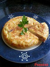 La cocina de Pssssss: TORTILLA DE MONGETES Y SALCHICHA PICANTE   – Patatas