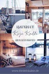 Koje Kalle: Hausboot-Urlaub in Heiligenhafen
