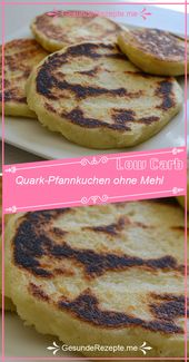 Low Carb Quark Pancakes without flour   – Low Carb