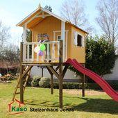 Stelzenhaus – Massivholz und individuell   – Playhouse
