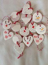 Weihnachtsanhänger selber machen – #machen #monte…