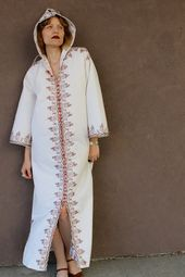 MOROCCAN KAFTAN DJELLABA; vintage kaftan moroccan; jellaba; Jellabiya; djellaba men ;d jellaba wool;moroccan dress;moroccan dress shorts