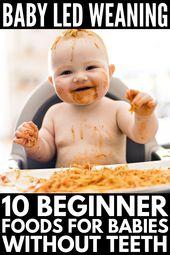 Le sevrage mené par le bébé pour les débutants: 25 conseils et recettes pour les nouvelles mamans   – Baby food