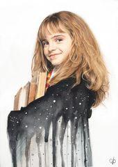 Harry Potter Fan Art in 12 magischen Stilen – von Angie Blakewood – – #fanart #ha …
