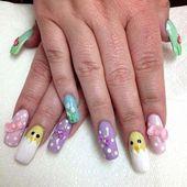 #art #designs #easter #nail #nailpro #nails    – easter nails