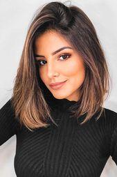 24 Ideen zur Auffrischung Ihrer Haarfarbe mit partiellen Highlights