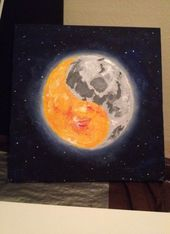 61+ ideas for tattoo mandala sun and moon night – c a n v a s