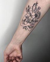 60+ atemberaubende und wunderbare Arm Tattoo Design-Ideen für Frauen #tattoo #smalltatto … …